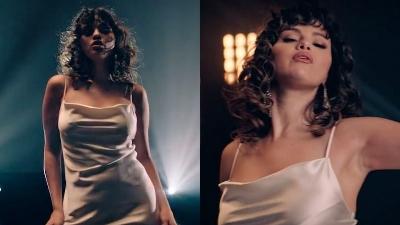 Selena Gomez diệnváy lụa hờ hững khoe vũ đạo gợi cảm nhưng vòng 2 mới gây chú ý