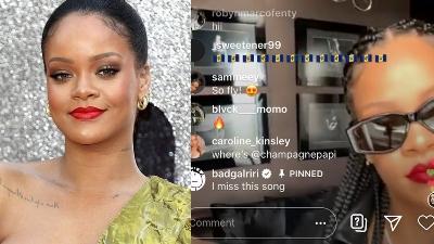 Đang livestream mà bị hỏi về album mới, Rihanna ngay lập tức cảnh cáo fan