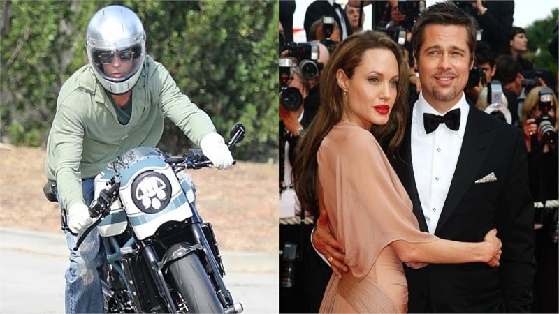 Brad Pitt lần đầu tiên xuất hiện trước nhà Angelina Jolie kể từ khi ly hôn