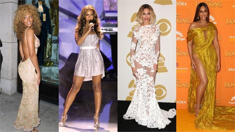 Phong cách thời trang của Beyoncé thay đổi thế nào qua năm tháng