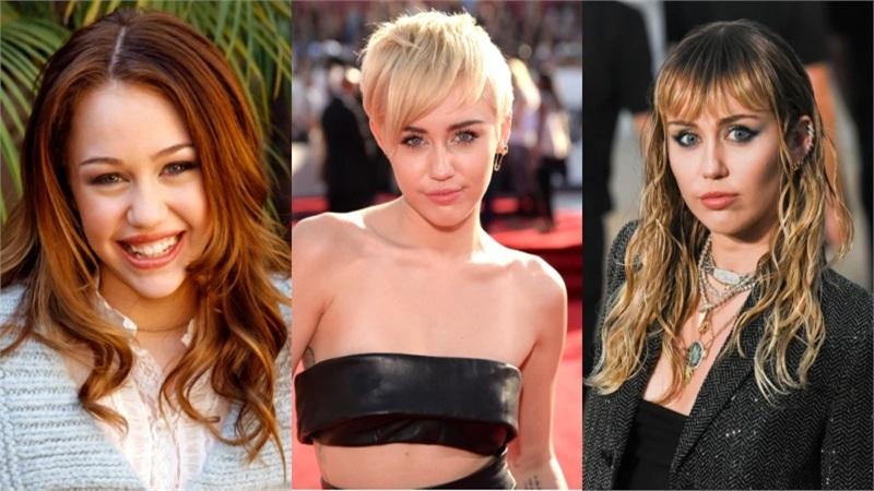 Ngắm hành trình thay đổi kiểu tóc như tắc kè hoa của Miley Cyrus