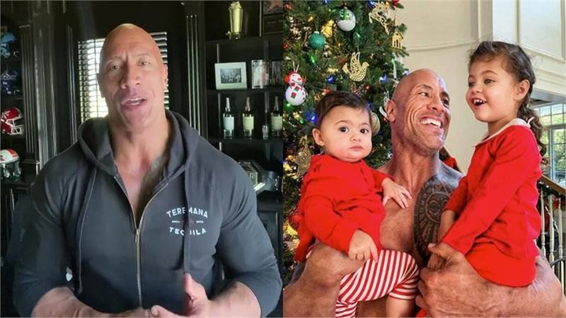 Nam diễn viên The Rock tiết lộ cả gia đình đều bị nhiễm Covid-19