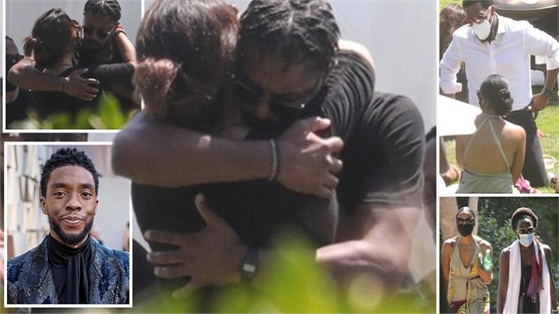 Vợ và loạt sao 'Black Panther' tổ chức lễ tưởng niệm cho ngôi sao quá cố Chadwick Boseman