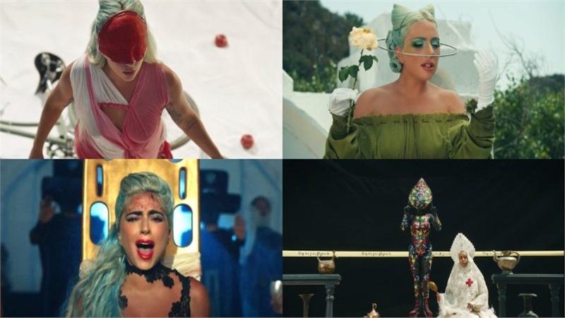 Lady Gaga tung MV '911': đổi đồ liên tục như 'tắc kè hoa', dày đặc hình ảnh biểu tượng và twist cực mạnh