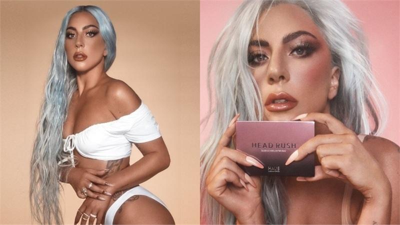 Lady Gaga đẹp lộng lẫy trong loạt hình quảng cáo mỹ phẩm, nhưng làn da lại có gì đó hơi sai