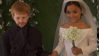 Hôn lễ Hoàng gia phiên bản nhí siêu đáng yêu thu hút 6 triệu lượt xem