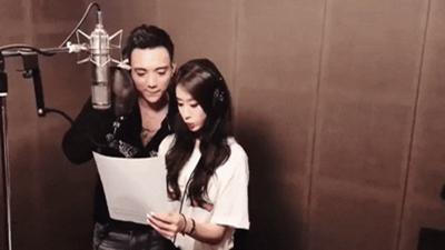 Jiyeon (T-ara) ân cần hướng dẫn Soobin Hoàng Sơn hát tiếng Hàn