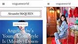 Thật khổ cho Angela Baby: Được lên Vogue Mỹ mà lại bị đăng nhầm thành ảnh Đường Yên