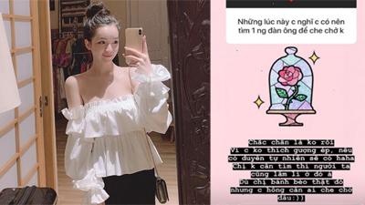 Tình cũ của Phan Hoàng tuyên bố 'không cần ai' khi nghe tin bạn trai đã có người mới