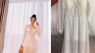 Bỏ 360 nghìn ra định mua váy sang chảnh về mặc, ai ngờ váy không thấy đâu lại còn thêm cục tức