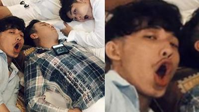 Trấn Thành bị dìm thê thảm khi ngủ ở hậu trường Running Man, nhưng biểu cảm của Liên Bỉnh Phát mới chiếm spotlight