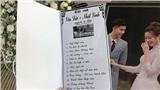 Thực đơn trong đám cưới Văn Đức - Nhật Linh có gì đặc biệt?