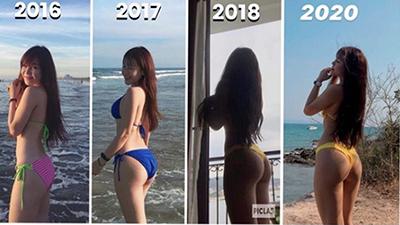 Khoe ảnh thời béo ú, bạn gái Văn Lâm chứng minh cho cả thế giới thấy 'ai rồi cũng khác'