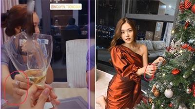 Á hậu Tường San lên tiếng phủ nhận tin đồn bí mật đính hôn ở tuổi 20