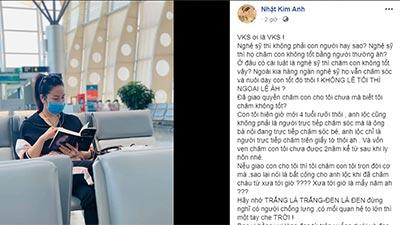 Gặp bất lợi khi giành quyền nuôi con, Nhật Kim Anh bức xúc 'nghệ sĩ không chăm con tốt bằng người thường à?'