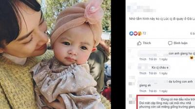 Dân mạng nghi ngờ cô bé xinh xắn này chính là con gái Nhã Phương - Trường Giang