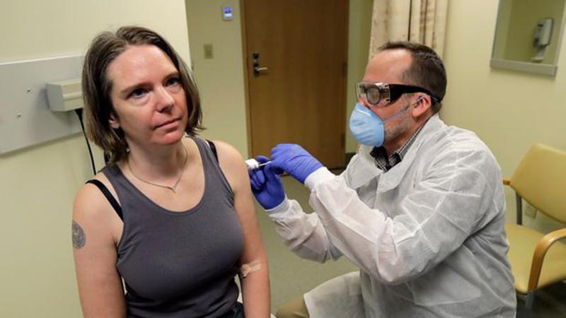 Tin vui đến từ vắc xin Covid-19 thử nghiệm của Mỹ: 30.000 người được tiêm giai đoạn 1 đều miễn dịch