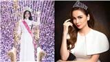 Nhìn Tiểu Vy trao vương miện lại cho tân Hoa hậu, Diễm Hương ngậm ngùi muốn tìm người kế nhiệm