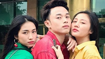 Sau gia đình Hoa dâm bụt, Hòa Minzy tiếp tục lập bộ ba Đèn giao thông với Trúc Nhân và Văn Mai Hương