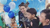 Subeo vui vẻ đón sinh nhật 8 tuổi bên cạnh cả mẹ Hồ Ngọc Hà và bố Cường Đôla