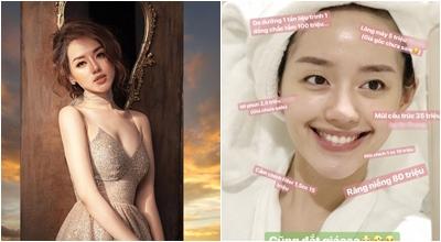 Khánh Linh The Face 'bóc giá' khuôn mặt theo trào lưu Rich Kid