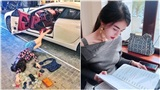 Mỹ nhân gợi cảm mới trong hội Rich Kid Việt là nhà thiết kế 'ruột' của nhiều sao nữ V-biz