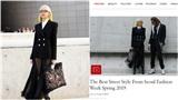 Phí Phương Anh 'chễm chệ' xuất hiện trên trang chủ tạp chí Vogue