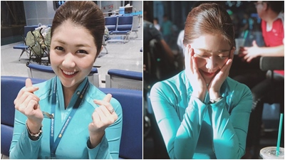 Nữ tiếp viên hãng Vietnam Airlines bất ngờ nổi tiếng vì xinh như diễn viên Hàn