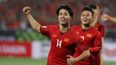 Bàn thắng mở tỷ số cho đội tuyển Việt Nam trong trận gặp Malaysia của Công Phượng