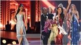 Á hậu 1 bị soi 'ánh mắt kỳ lạ' trong khoảnh khắc người đẹp Philippines đăng quang
