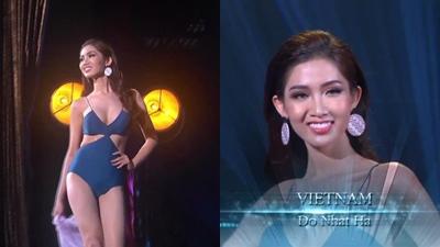 Đỗ Nhật Hà gây bất ngờ với màn trình diễn bikini cực lôi cuốn tại Hoa hậu Chuyển giới Quốc tế