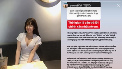 Bạn gái Lâm Tây: 'Mục đích ban đầu của 99% con trai đều là gạ gẫm'