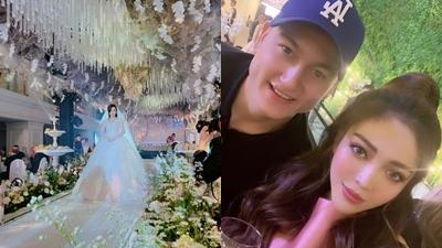 Choáng ngợp trước đám cưới cổ tích của Rich Kid Trinh Hoàng, Lâm Tây từ Thái Lan cũng bay về góp vui