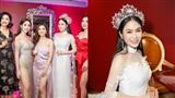 Dàn sao Việt hội ngộ chúc mừng Hoa hậu Áo dài 2019 Tuyết Nga