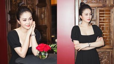Bạn thân Ngọc Trinh tái xuất showbiz sau khi giành danh hiệu Hoa hậu Tài năng