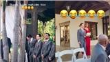 Hồ Ngọc Hà thích thú khi bạn trai Kim Lý làm phù rể