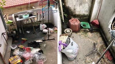 Đỉnh cao ở bẩn: 3 nữ sinh trả phòng, để lộ bãi rác ngổn ngang như chưa bao giờ dọn dẹp