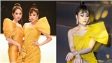 Hoa hậu Áo dài Tuyết Nga 'đọ' dáng bên Hà Hồ, Ngọc Trinh tại sự kiện thời trang