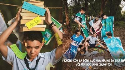 Bộ ảnh kỷ yếu phơi bày gánh nặng mang tên 'đỗ đại học' của học sinh lớp 12 'gây bão' mạng xã hội