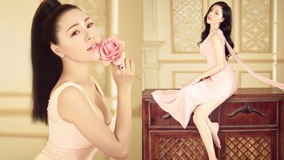 Á hậu Áo dài Việt Nam Kathy Hương khoe vẻ đẹp hút hồn trong bộ ảnh mới