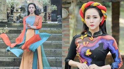 Áo dài sắc màu mở đầu xu hướng thời trang mùa hè thu 2019