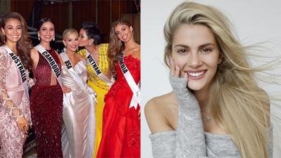 Hoa hậu Hoàn vũ Mỹ lần đầu nói về scandal bị tẩy chay vì chê H'Hen Niê kém tiếng Anh