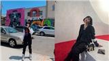 Châu Bùi khoe street style cá tính khi tới New York dự show thời trang