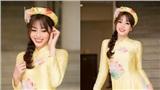 Á hậu Phương Nga cùng hội tụ dàn người đẹp trình diễn BST áo dài của Hoa hậu Ngọc Hân