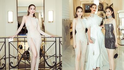 Ngọc Trinh lần đầu dự tiệc LHP Cannes, đọ sắc 'không khoan nhượng' trước thiên thần Victoria's Secret