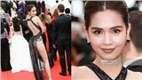 Hở bạo trên thảm đỏ Cannes, Ngọc Trinh bị báo chí quốc tế gọi là 'người đẹp vô danh của Trung Quốc'