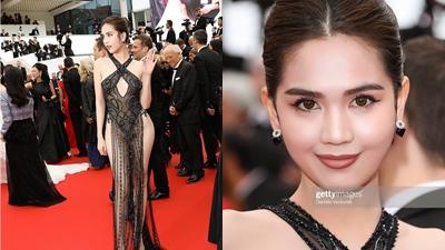 Dư luận trong nước chỉ trích gay gắt, truyền thông nước ngoài nói gì về chiếc váy hở bạo của Ngọc Trinh?