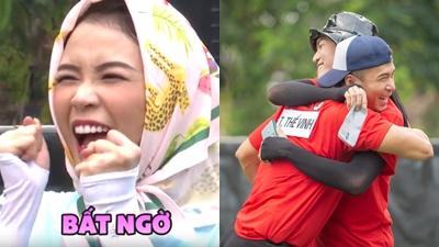 'Chạy đi chờ chi' tập 9: Jun Phạm và Sam 'dính' nhau không rời, BB Trần và Trương Thế Vinh là cặp đôi mới