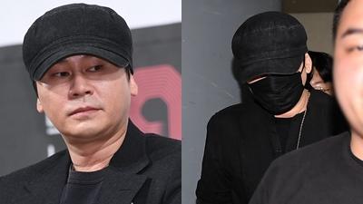 Yang Hyun Suk bị cảnh sát triệu tập trong đêm, cúi gằm mặt tránh né truyền thông