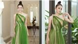 Hoa hậu Tiểu Vy đẹp tựa nữ thần khi diện đầm dạ hội xuyên thấu